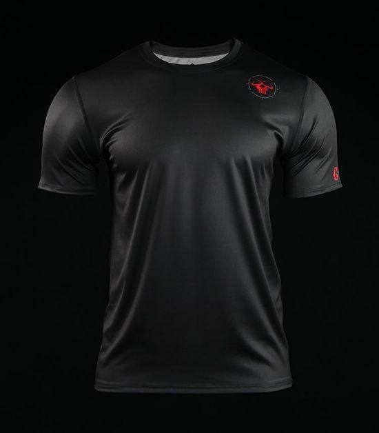 Training t-shirt Crossborn Minimal Black