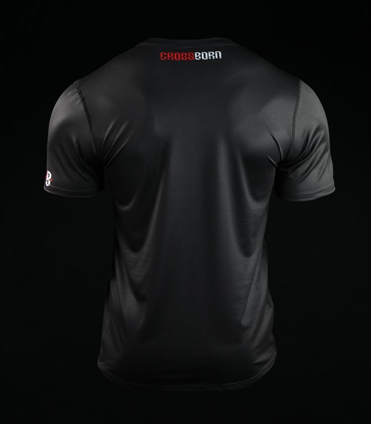 Koszulka treningowa (T-shirt) Minimal Czarna
