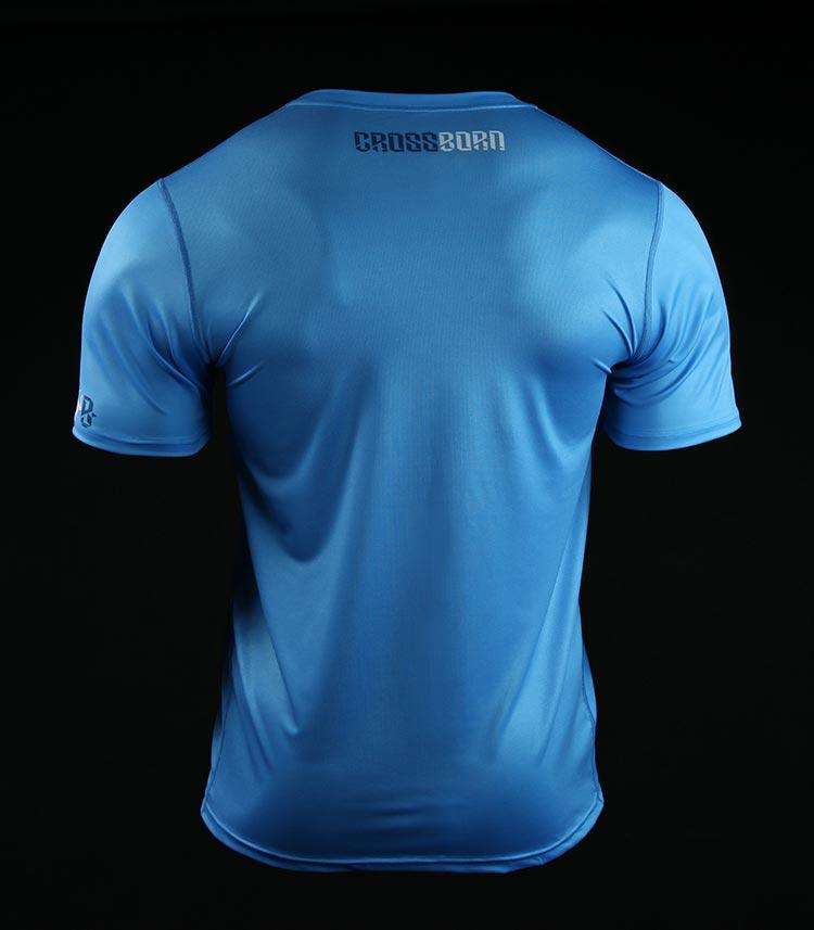 Koszulka treningowa (T-shirt) Minimal Niebieska